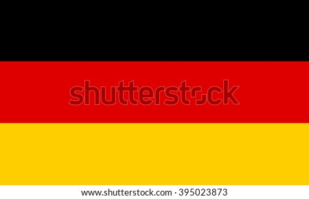 The national flag of Germany. black, yellow and red. flat 2d background.