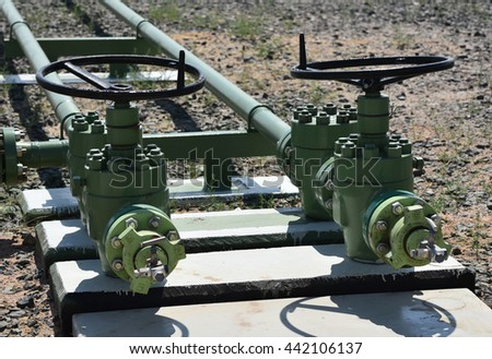 The oil production valves