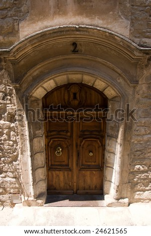 The old door in Provence