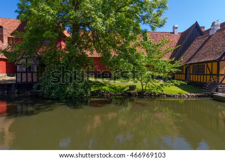 The old village in Aarhus