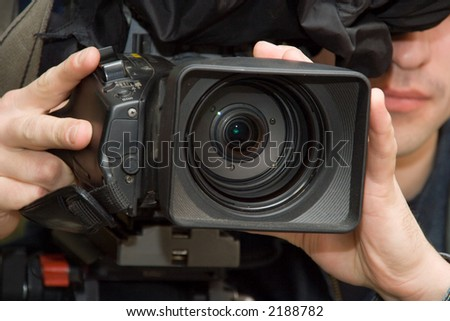 The operator and a video-camera