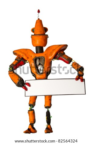 The orange robot