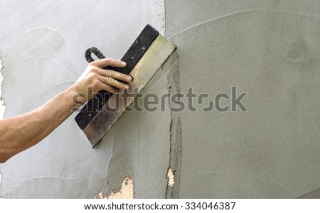 how to use putty on walls
