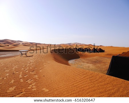 Sahara Largest Hot Desert Third Largest Stock Photo - What is the largest desert in the world