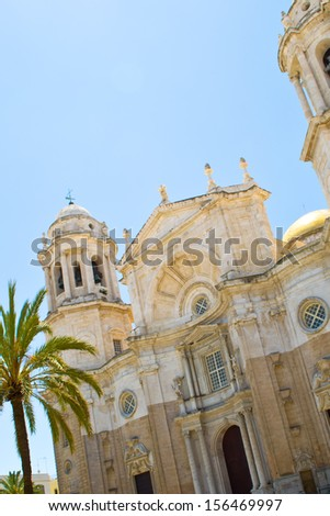 The temple in Cadiz