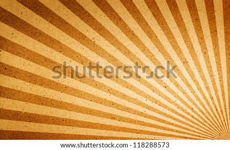 Gold Yellow Background Retro Striped Layout Stock Illustration ...