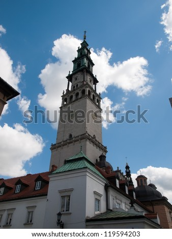 The Tower of Luminous Mount Monastery,Czestochowa-Poland