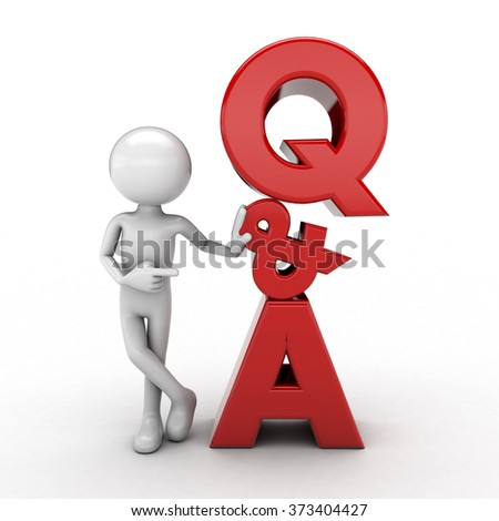 the use of human Questions And Answers white background