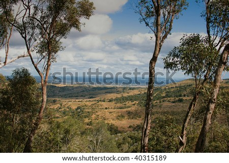 The view from Boat Mountain, Murgon, Queensland, Australia
