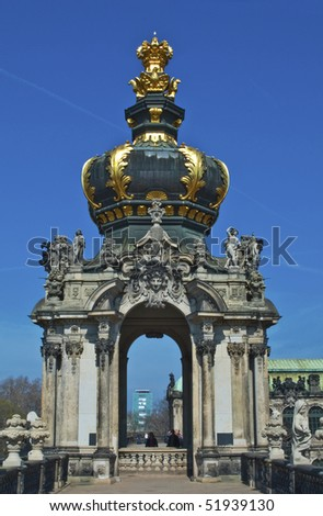 The Zwinger palace of Dresden