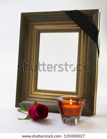 gold frame rose petals - photo #9
