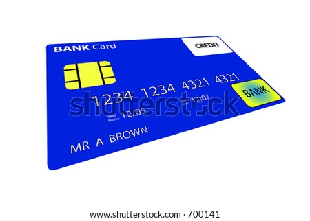 This is a credit card.