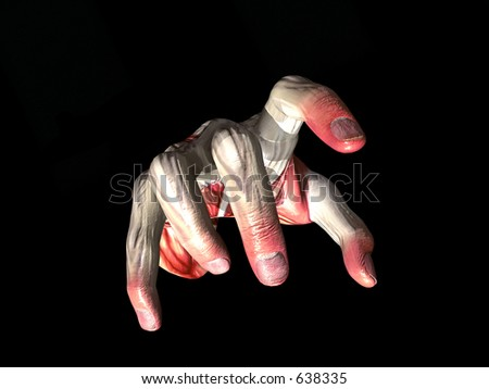 This is a spooky hand.