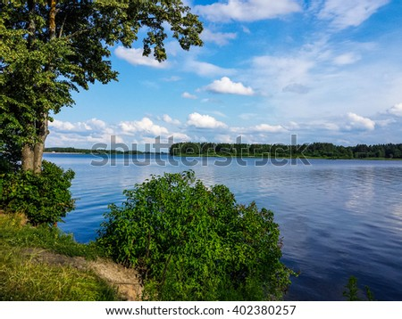 This is the largest river in Latvia.