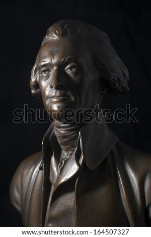 Thomas Jefferson Bronze Statue