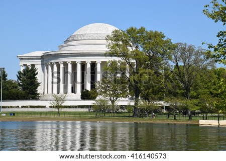 Thomas Jefferson Memorial in Washington, DC