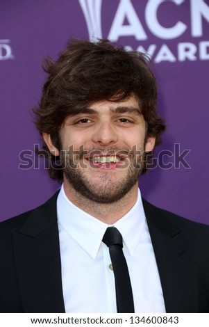 Thomas Rhett at the 48th Annual Academy Of Country Music Awards Arrivals, MGM Grand Garden Arena, Las Vegas, NV 04-07-13