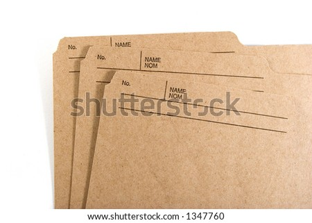Brown folder stock photos images pictures shutterstock for Interoffice envelope template cover