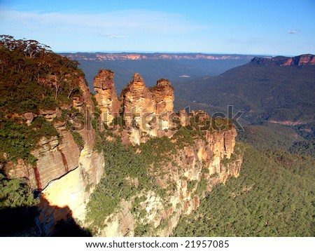 Three Sisters in Blue Mountains Australia