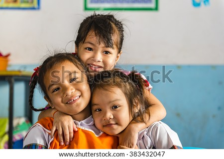 Very young girl student school has stock photo 383425516 for Tiny thai teen