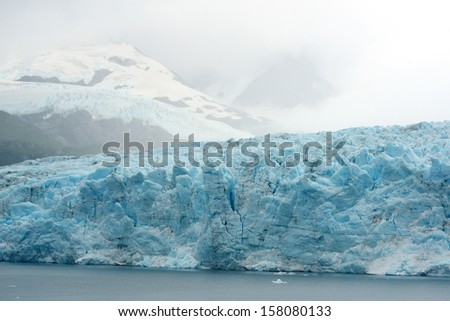 tidewater glacier in south alaska
