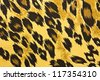 Tiger fabric - stock photo