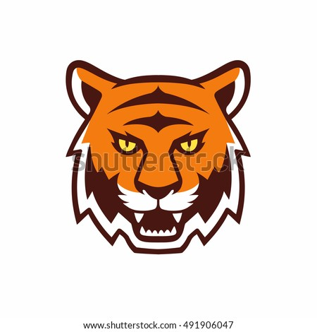 Tiger head logo design - photo#51