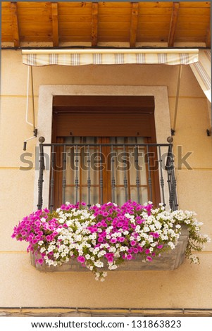 tipical spanish balcony