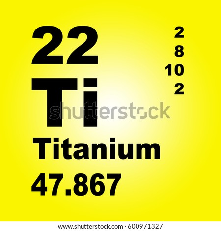 Titanium periodic table elements stock illustration 303940880 titanium periodic table of elements urtaz Image collections