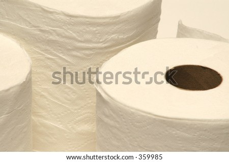 Roll toilet paper stock photo 143839831 shutterstock - Lavish white and grey kitchen for hygienic and bright view ...