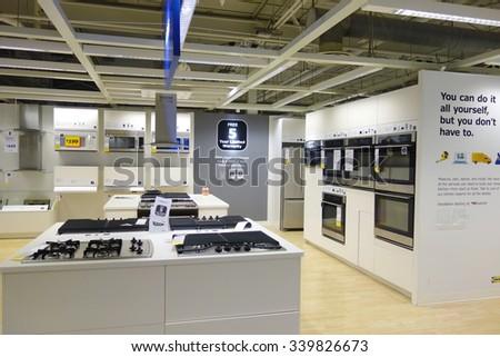 Electric enclosure installation stock photo 918636 for Ikea customer service atlanta