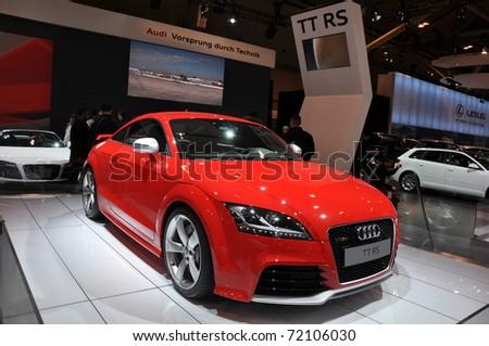 Toronto February Audi A On Stock Photo Shutterstock - Audi toronto