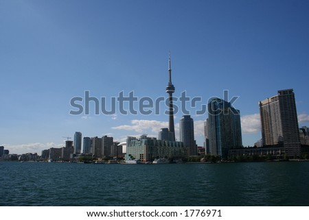 Toronto skyline from Centre Island.