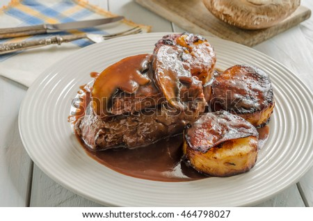 Coq au vin stock photo 142430026 shutterstock - Vin rossini ...