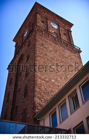 Town Hall Tower Karlsruhe, Germany
