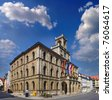 Town hall Weimar in Germany, UNESCO World Heritage Site - stock photo
