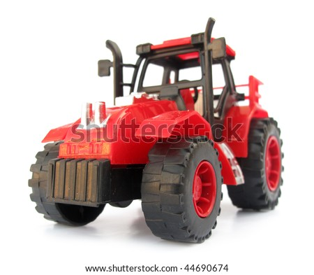 Tractor red toy