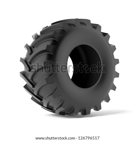 Big tyre stock photos images pictures shutterstock for Big tractor tires for free