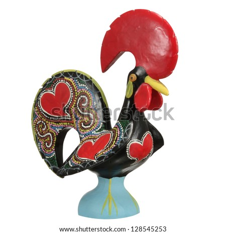 Traditional Ceramic Rooster - symbol of Portugal