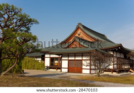Traditional Japanese house in Nara, Japan
