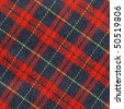 Traditional Scottish tartan textile pattern useful as a background - stock photo