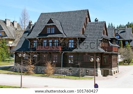 Halftimbered german house stock photo 36370684 shutterstock - Traditional polish houses wood mastership ...