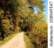Trail in Harpers Ferry , West Virginia USA - stock photo