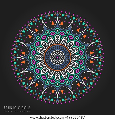 how to draw a colored circle elements