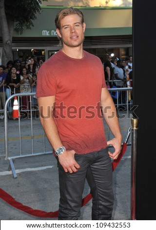 "Trevor Donovan at the world premiere of  ""Savages"" at Mann Village Theatre, Westwood. June 26, 2012  Los Angeles, CA Picture: Paul Smith / Featureflash"