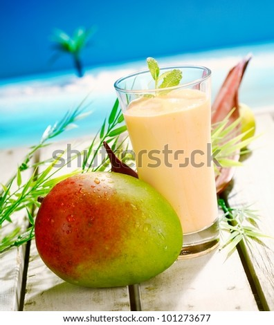 Tropical Mango Fruit Drink