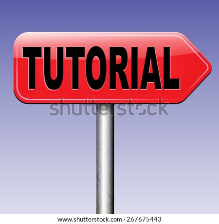 tutorial e learning learn online video lesson or class, website education