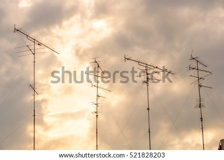 TV antenna on Sky