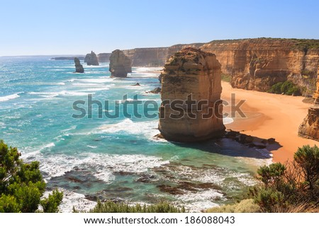 Twelve Apostles, Port Campbell National Park, Great Ocean Road Victoria Australia