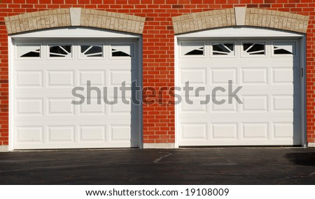 Two Garage Doors